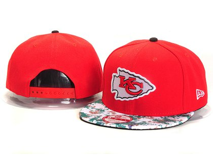 Kansas City Chiefs New Type Snapback Hat YS A718